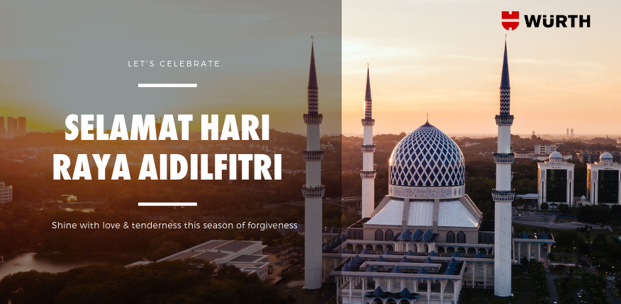 Let's together we celebrate this Raya with our loved one!